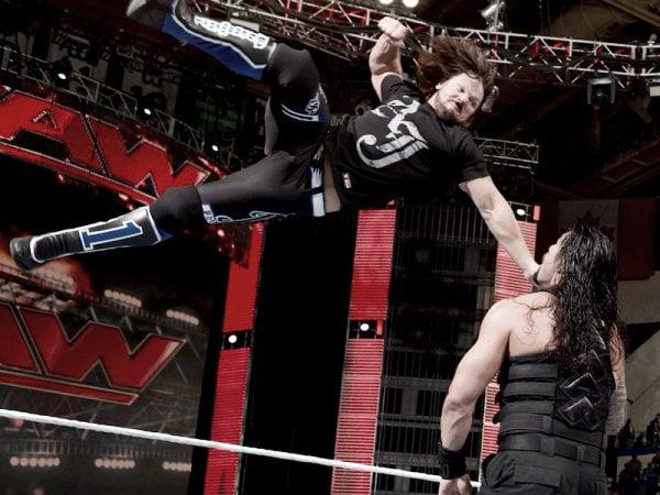 Austin said AJ carried Reigns during their feud (image: financialspots.com)