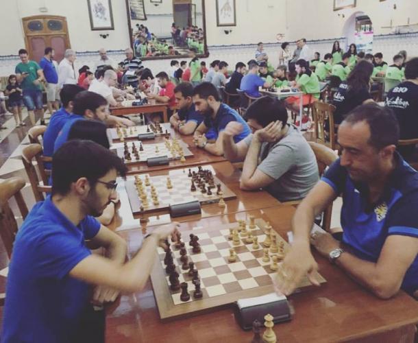 Club Ajedrez Tomelloso en el Regional de Rápidas de CTM