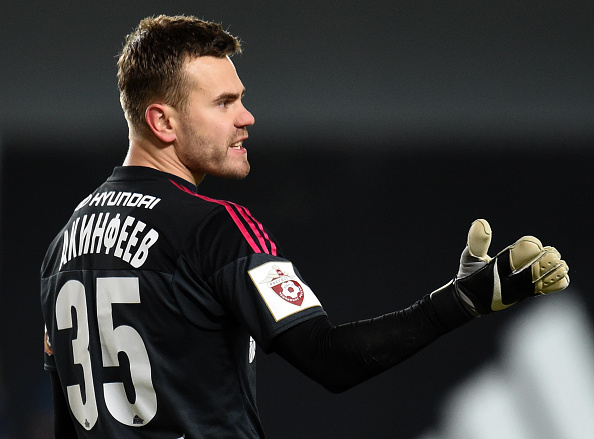 Akinfeev is a Russian veteran at a young age | Photo: Epsilon
