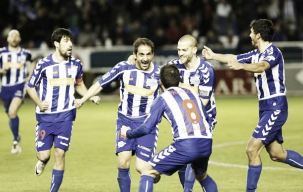 Deportivo Alaves won Segunda division despite only scoring 49 goals in 42 games. Source: Marca