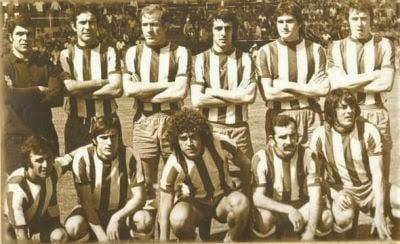 equipo histórico del Alavés. Fuente: deportivoalaves.com