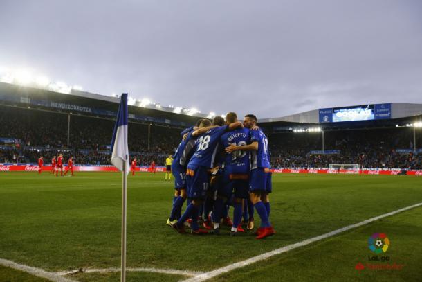 El Alavés derrotó 1-0 al Sevilla  |  Fotografía: La Liga