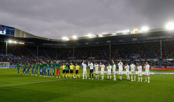 Deportivo Alavés vs Real Madrid / Foto: Real Madrid Web Oficial