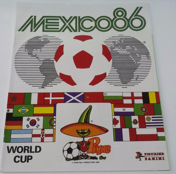 Álbum Oficial Panini, México 1986   Foto: Fernando Rosas (VAVEL)