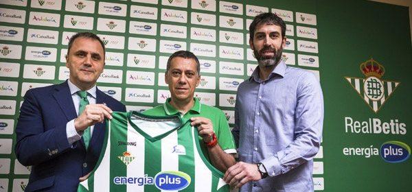 Alejandro Martínez en su presentación (Foto: Real Betis Energía Plus)