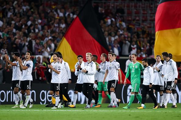 Com um pé na Rússia: Alemanha precisa de apenas um empate para garantir matematicamente a vaga (Foto: Maja Hitij/Bongarts)