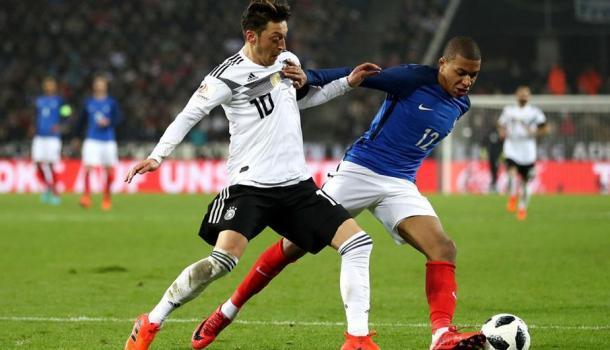 Özil, jugador de la selección alemana en el partido frente a Francia (peru.com)