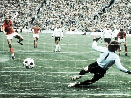 Holanda perdió la final ante Alemania Federal. Foto: UEFA.com