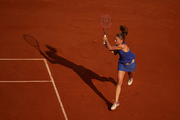The Russian has a bright future ahead of her (Photo by Julian Finney / Getty)