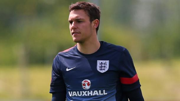 Fraser Forster's pain was Alex McCarthy's gain, as Southampton's new keeper replaced his team-mate in the England squad. Photo: The FA.