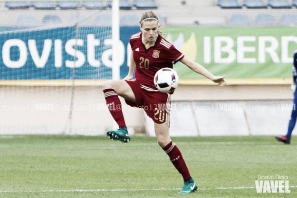 España cayó ante Inglaterra en Guadalajara. | Foto: Daniel Nieto (VAVEL.com).