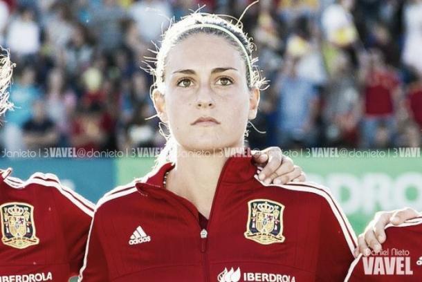 Alexia Putellas con España | Foto: VAVEL