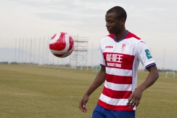 Adrián Ramos, un baluarte ofensivo | Foto: Granada CF
