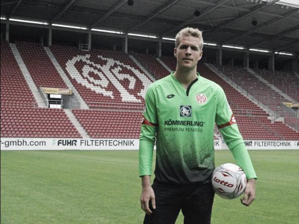 Jonas Lossl has big boots to fill after the departure of Karius. (Photo: allgemeine-zeitung.de)