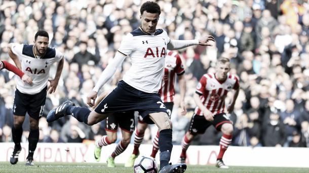 Dele Alli será una de las grandes armas del Tottenham en el día de hoy./ Foto: Premier League