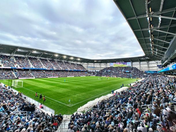 Encuentro de 'Los Loons' en el Allianz Field (soccerstadiumdigest.com)