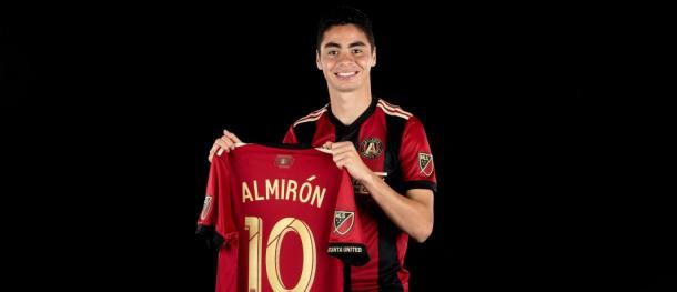 Miguel Almiron became Atlanta United's second DP last month. (Source: ATLUTD.com)