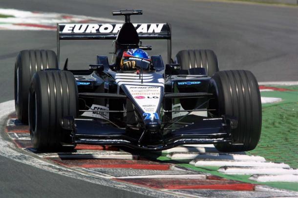 Alonso en el GP de Italia con Minardi | Foto: Minardi