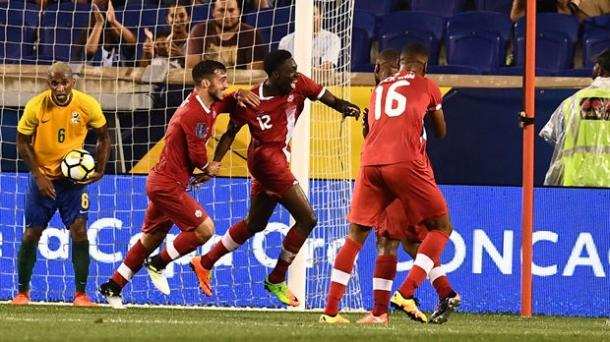 Alphonso Davies is the youngest goal-scorer in Canadian Men's team history. | Source: CBC
