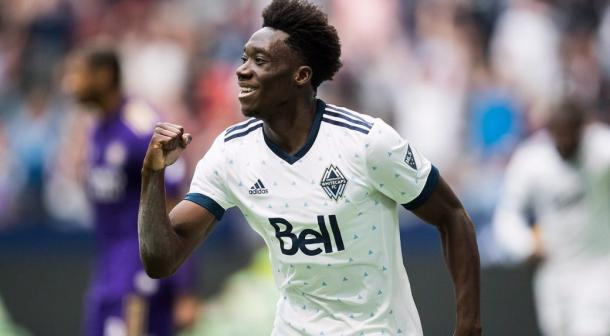 Alphonso Davies has impressed many during his time with the Whitecaps | Source: sportsnet.ca