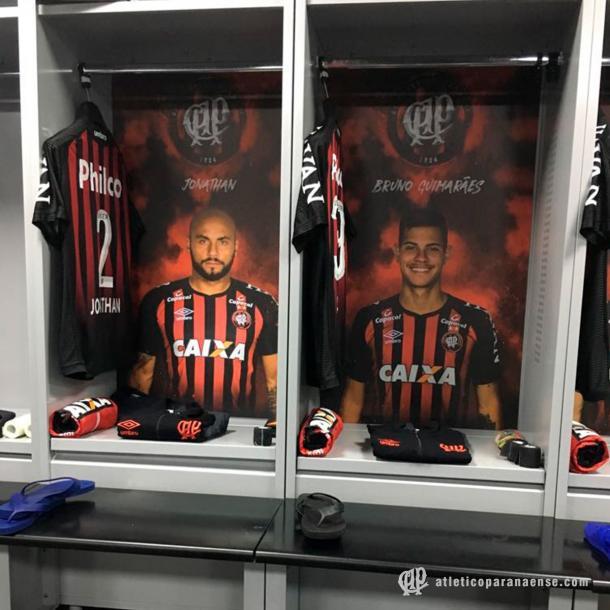 Foto: Twitter/Atlético-PR