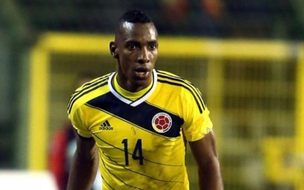 Perea con la selección colombiana (Foto: Archivo)