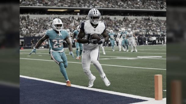 Amari Cooper, seguramente firme un contrato multimillonario en los Cowboys (foto Cowboys.com)