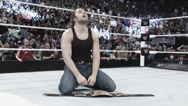 He finally did it. Photot- WWE.com