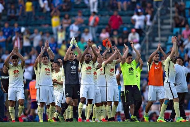 Una imagen que la afición quiere ver siempre   Foto: Club América