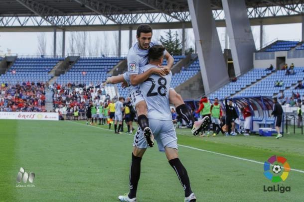 Naranjo hizo el primer gol del partido | Foto: LaLiga.
