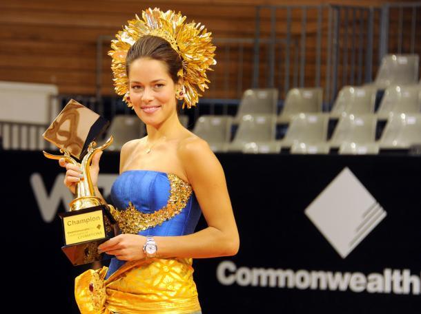 La balcánica con su título en Bali 2011 (Foto: Yahoo Deportes)