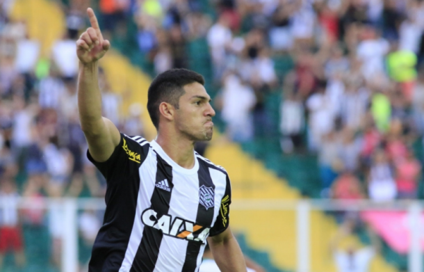 André Luís é o artilheiro alvinegro na temporada (Foto: Luiz Henrique / Figueirense FC)