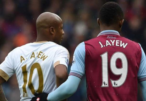 An injury to André means the Ayew rivalry cannot continue at the weekend. | Photo: Goal