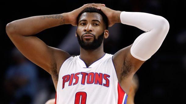 Andre Drummond lamentando una jugada | Foto: NBA.com