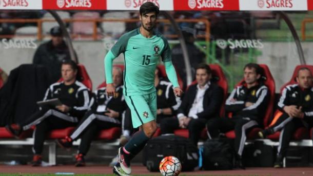 André Gomes con Portugal (foto:foromadrista)