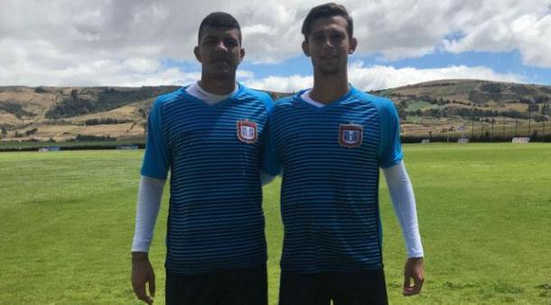 Andrés Varon y Gerson Navarro | Foto: Boyacá Chicó