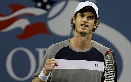 A much younger Andy Murray during his 2008 US Open run (Source: AP)
