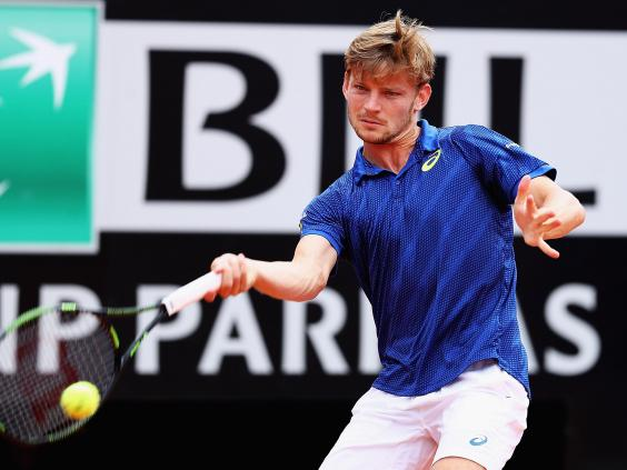 Goffin is yet to beat the British number one. Photo: Getty