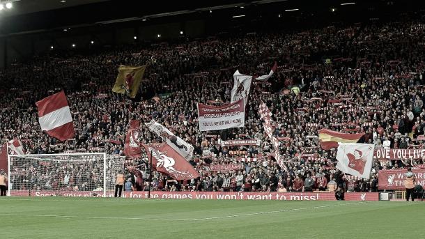 Anfield acompañará a su equipo en una nueva noche de Champions. Foto: Premier League