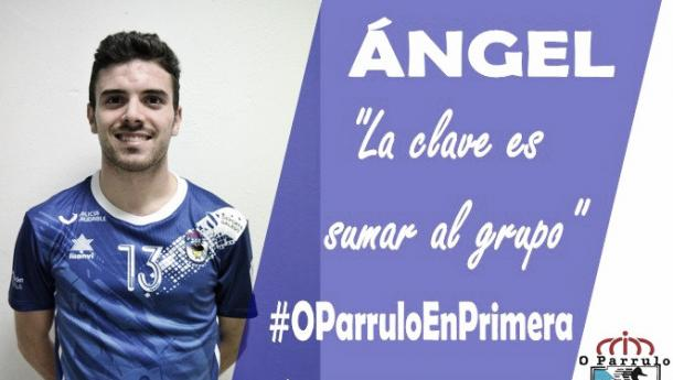 Ángel seguirá en O Parrulo | Foto: @oparrulofs