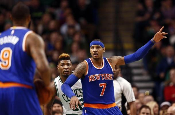 Melo Anthony - Marcus Smart - Foto Hardwood Houdini