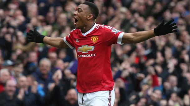 Martial is in fantastic form for the Reds | Photo: Getty Images