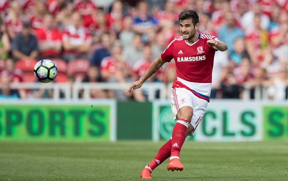 Antonio Barragan in action against Stoke City | Photo: Getty Images