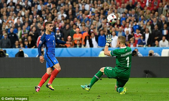 Griezmann's goal was pure quality (photo: Getty Images)