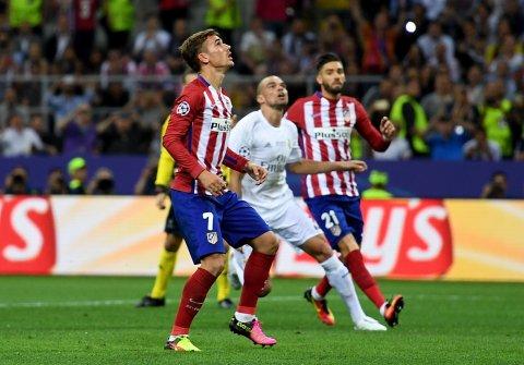 Griezmann perdeu uma boa oportunidade de chegar ao empate // Foto: Getty Images