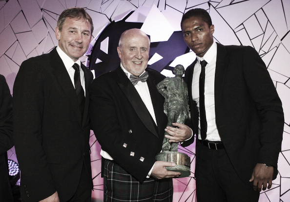Valencia won United's Player of the Year award in his third season | Photo: Manchester United/ John Peters