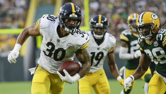 James Conner is set tot start in Bell's absence | Source: Associated Press
