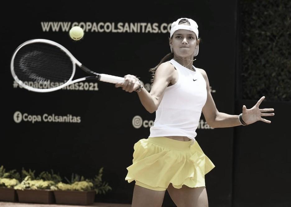 Emiliana Arango. Foto Federación Colombiana de Tenis