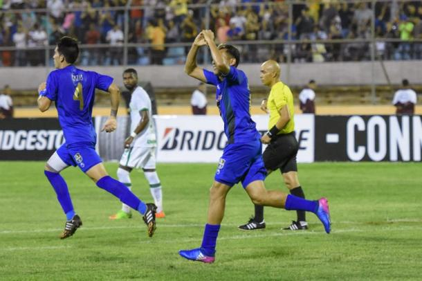 Arango anotó el 1-2 definitivo / FOTO: Prensa Zulia FC