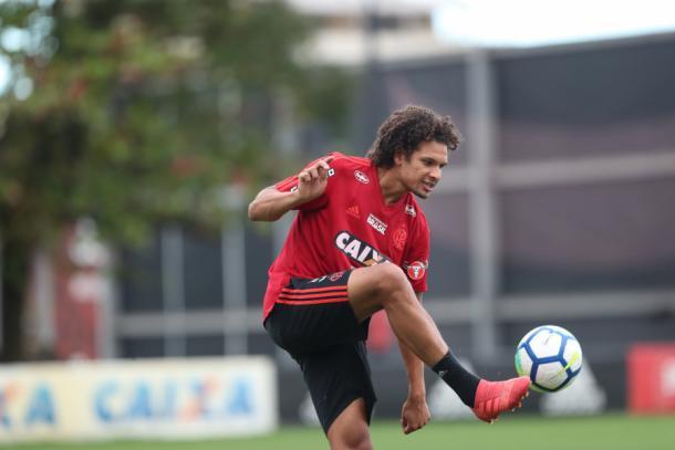 Willian Arão negocia saída do Rubro-Negro. Foto: Gilvan de Souza/Flamengo
